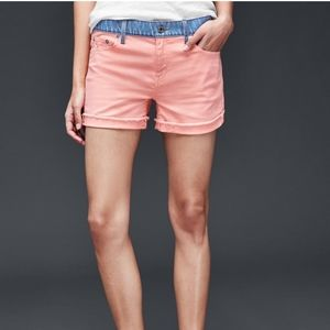 NWT Gap Shorts with Contrast Waist
